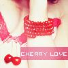 Аватар Девушка с браслетом на руке и вишенками (Cherry love / Вишневая любовь)