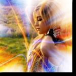 Аватар Девушка-блондинка стоит заложив руки за голову