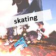 Аватар Парень выполняет прыжок на скейте (skating / скейтинг)