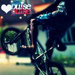 Аватар Мужчина стал на заднее колесо велосипеда ( pulse / пульс)