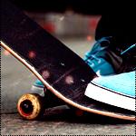 Аватар Ноги и скейт
