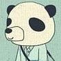 Аватар Человек с головой панды