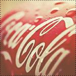 Аватар Банка Кока-Колы / Coca-Cola в каплях