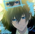 Аватар Тсунаёши Савада (Тсуна) / Sawada Tsunayoshi (Tsuna) из аниме Katekyo Hitman Reborn / Репетитор-киллер Реборн улыбается