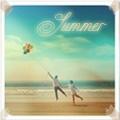 Аватар Мужчина и девушка гуляют по пляжу ( summer / лето )