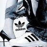 Аватар Женская ножка с трусиками, и мужская нога в кроссовке (adidas)