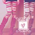 Аватар Девушка в ярких колготках и сапогах