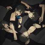 Аватар Рин Окумура / Rin Okumura, Юкио Окумура / Yukio Okumura, Фелес Мефисто / Feles Mephisto, Амаймон / Amaymon из аниме 'Синий экзорцист / Blue Exorcist'