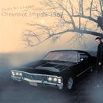 Аватар Дин Винчестер из сериала *Сверхъестественное / Supernatural* стоит у Шевроле Импала / Chevrolet Impala 1967 года