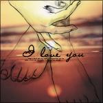 Аватар Силуэт женских ножек и руки на фоне заката на море (I love you / Я люблю тебя)