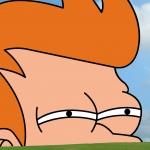 99px.ru аватар Прищуренный взгляд Фрая / Fry из мультсериала Футурама / Futurama