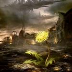 99px.ru аватар Одуванчик растёт в разрушенном городе