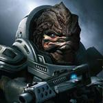 99px.ru аватар Большеголовый монстр с излучателем из игры Mass Effect / Масс Эффект