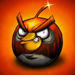Аватар Бомба в виде птицы из игры Angry Birds / Злые птицы