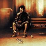 Аватар Грустный Адам / sad Adam из игры Deus Ex Human Revolution по мотивам известного фото Грустный Киану Ривз / Keanu Reeves