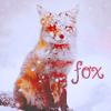 Аватар Лиса, запорошенная снегом (Fox)