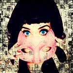 Аватар Кэти Перри / Katy Perry держит розовую маску кошки