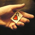 Аватар Мужская рука с признанием в любви и предложением начать встречаться