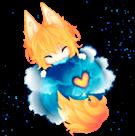 Аватар Кавайная Мазила Фаерфокс / Kawaii Mozilla Firefox by itsunfe
