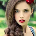 99px ru аватар девушка с косой