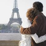 Аватар Влюбленная пара в Париже на фоне Эйфелевой башни, Париж / Paris
