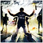 Аватар Парень стоит на коленях перед полицейскими с дубинками, но не сдается (You are free / Ты свободен), художник под псевдонимом Yuumei