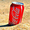 Аватар Бутылка Кока-Колы / Coca-Cola на песке