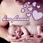 Аватар Малыш спит и улыбается на руках у папы (love forever)