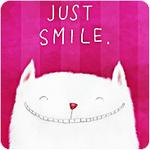 Аватар Кот улыбается (Just smile / Просто улыбайся)
