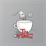 Аватар Чайный пакетик прыгает в чашку (Tea time / Время чая)