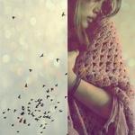 Аватар Полет души: девушка и птицы в небе