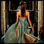 Аватар Девушка в золотисто - зеленом платье от модельера Zuhair Murad / Зухайра Мурада