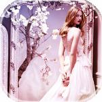 Аватар Модель Frida Gustavsson / Фрида Густавссон стоит у зеркала, в котором отражается цветущая яблоня, кадр из рекламы парфюма Nina Ricci / Нина Ричи