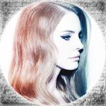 Аватар Певица Lana Del Rey / Лана Дель Рей в профиль