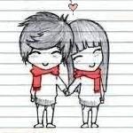 Аватар Мальчик и девочка держатся за руки