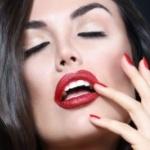Аватар Девушка с красной помадой на губах, фотограф Barry Druxman