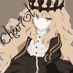 Аватар Аватар Chariot / Чариот с короной на голове из аниме Black Rock Shooter / Стрелок с Черной Скалы