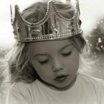 Аватар Маленькая принцесса с закрытыми глазами