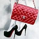 Аватар Ножки девушки в черных туфлях и красная сумка