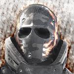 Аватар Наемник Эллиот / Elliot из игры Армия из двоих / Army of two, в броне и маске