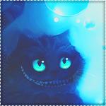 Аватар Чеширский кот из мультфильма Алиса в стране Чудес / Alice in Wonderland смеется