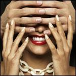 Аватар Женские руки трогают мужские, которые закрыли женское лицо
