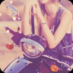 Аватар Девушка за рулем мотоцикла