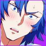 Аватар Смущающийся Айкуро Микисуги / Aikurou Mikisugi из аниме Круши Кромсай / Kill la kill