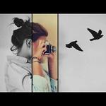 Аватар Девушка фотографирует птиц