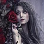 Аватар Девушка с розой