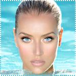 Аватар Девушка с синими глазами