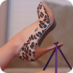 Аватар Леопардовая туфелька на женской ножке