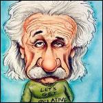 Аватар Карикатурное изображение Альберта Эйнштейна / Albert Einstein