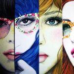 Аватар Портреты девушек, художница Mercedes de Bellard